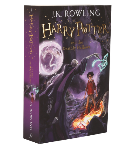 New Edition Harry Potter and the Deathly Hallows (Paperback)