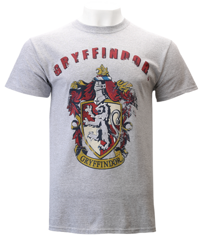 Distressed Gryffindor Crest T-Shirt