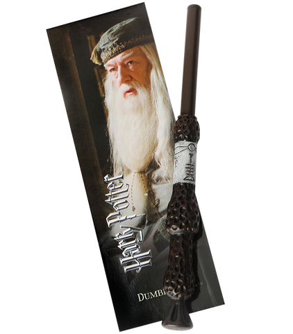 Albus Dumbledore Wand Pen & Bookmark