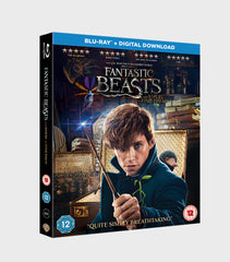 Fantastic Beasts And Where To Find Them Blu Ray