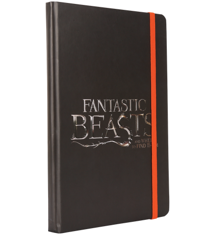 Fantastic Beasts Black Logo Notepad