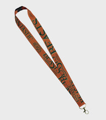 Orange Fantastic Beasts Lanyard