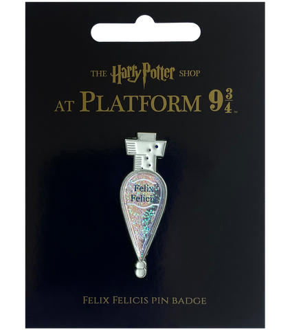 Felix Felicis Potion Pin Badge