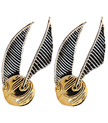 The Golden Snitch Earrings