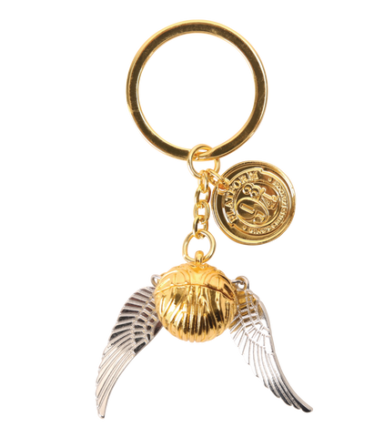 The Golden Snitch Keyring
