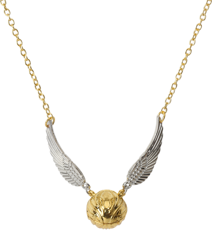 The Golden Snitch Pendant Necklace