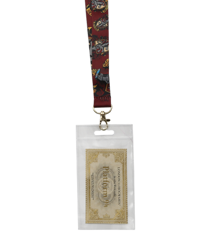 Gryffindor Lanyard & Ticket