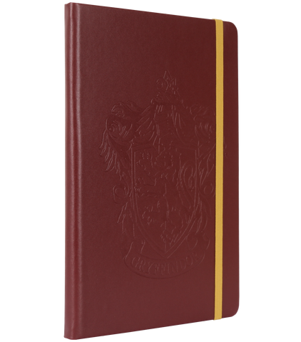 Embossed Notebook Gryffindor