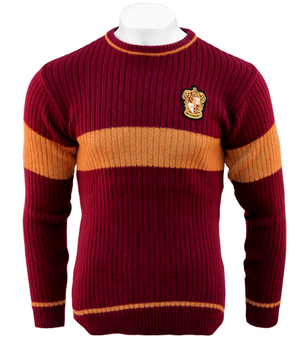 815169079ed Product information. Gryffindor Quidditch Sweater. Product  Celebrate your  favourite Hogwarts ...