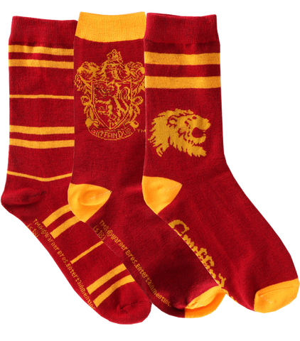 Gryffindor Sock Set - 3 Pack