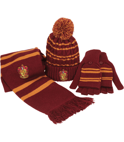 Winter Accessories Set - Gryffindor