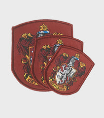 Set of Gryffindor Embroidered Crest Patches