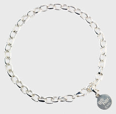 Sterling Sliver Harry Potter Charm Bracelet (Adult Size)