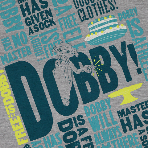 Magical Mischief Free Dobby Scented Grey T-Shirt