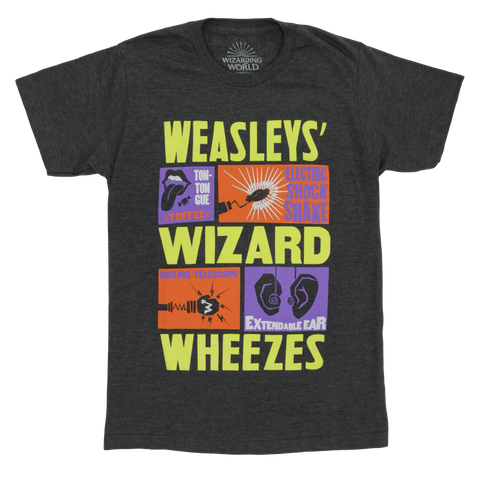 Magical Mischief Weasley's Wizard Wheezes Puffed Ink T-Shirt