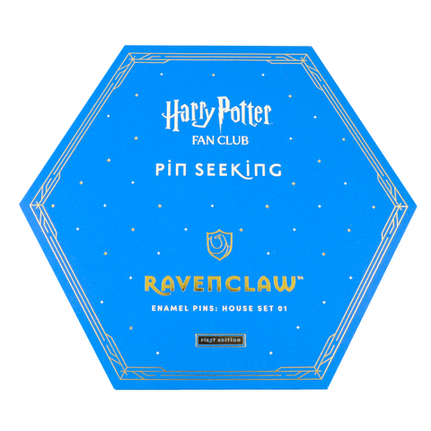 First Edition: Ravenclaw™ Enamel Pins: House Set 01