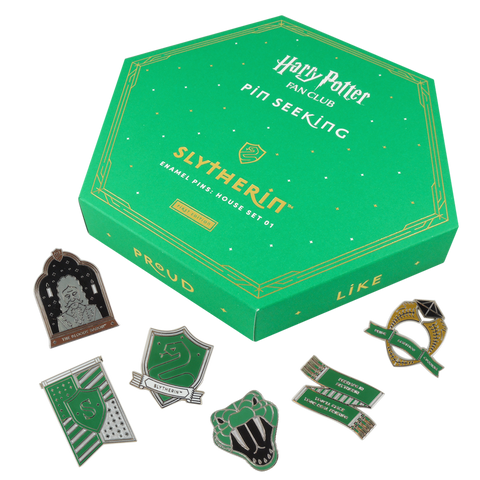 First Edition: Slytherin™ Enamel Pins: House Set 01
