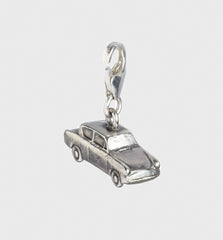 Sterling Sliver FORD ANGLIA FLYING CAR CLIP CHARM