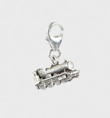 Sterling Sliver Hogwarts Express train clip charm