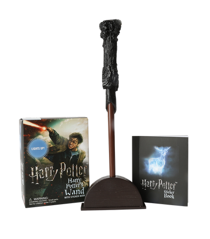 Harry Potter's Wand & Sticker Book