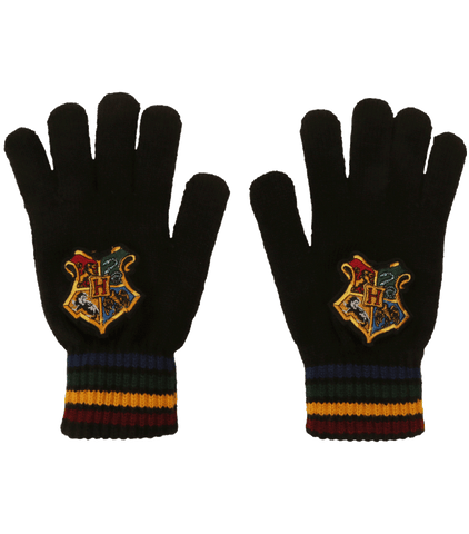 Hogwarts School Crest Knitted Gloves