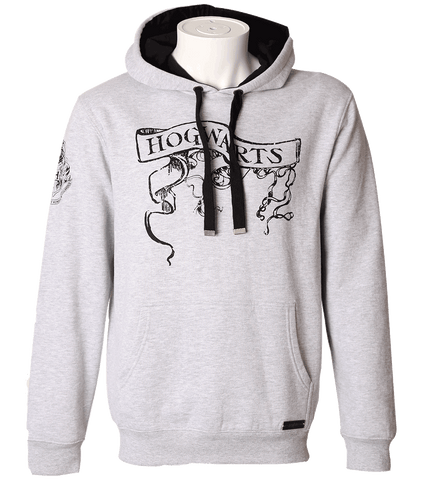 Hogwarts Scroll Hooded Jumper