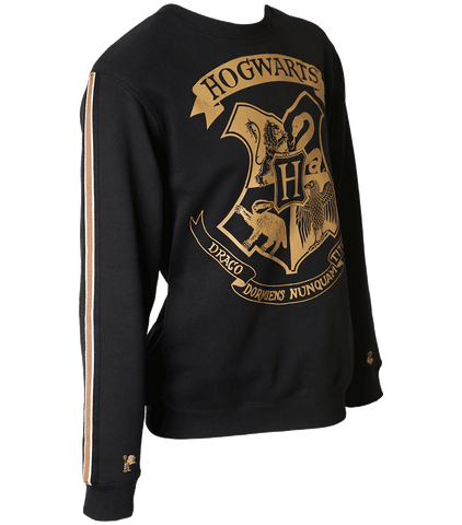 Hogwarts Striped Sleeve Sweatshirt
