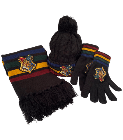 Winter Accessories Set - Hogwarts
