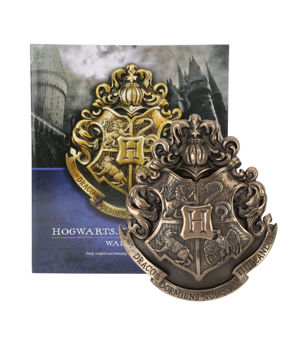 Hogwarts Crest Wall Plaque