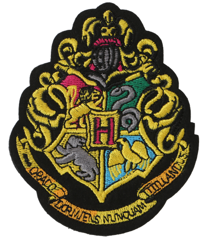 Hogwarts Crest Embroidered Patch