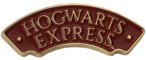 Hogwarts Express Sign Pin Badge