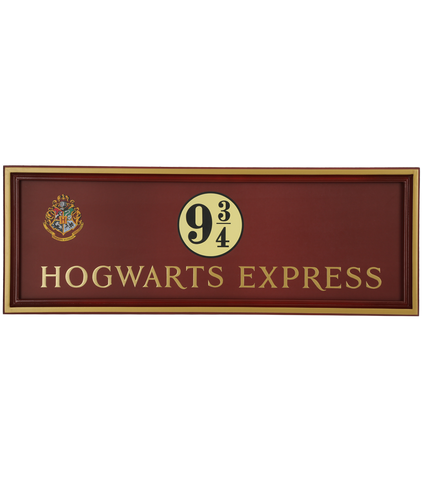 Hogwarts Express Wall Sign