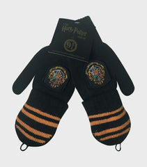 Hogwarts Knitted Mitten Capped Gloves