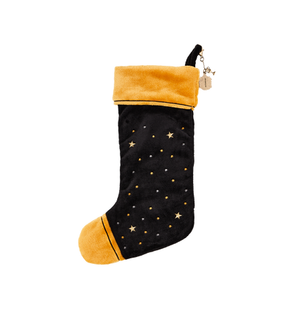 Hufflepuff Velvet Christmas Stocking