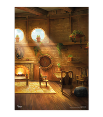 Hufflepuff Common Room - Pottermore Poster