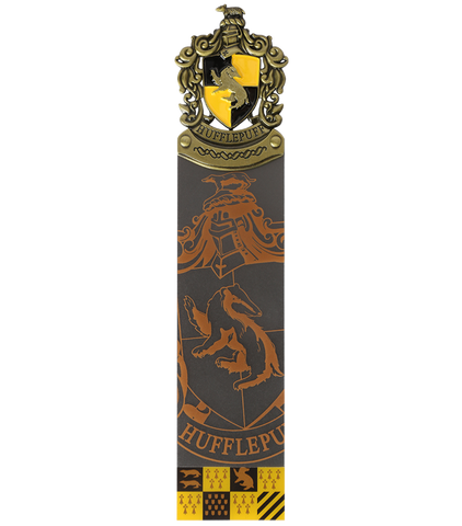 Hufflepuff Crest Bookmark