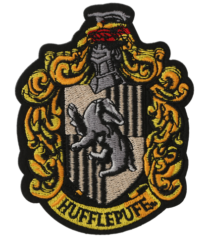 Hufflepuff Crest Embroidered Patch