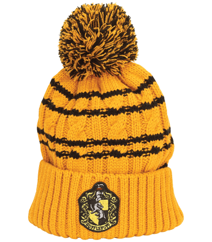 Hufflepuff Knitted Hat