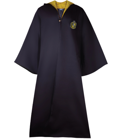 Long Black Robe - Hufflepuff