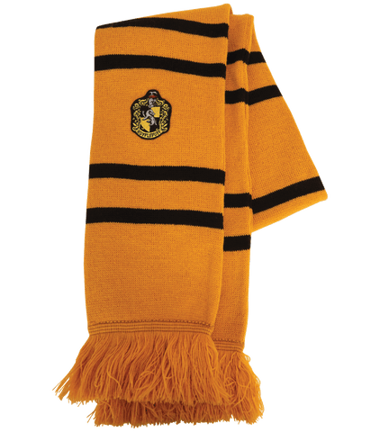 Hufflepuff Knitted Crest Scarf