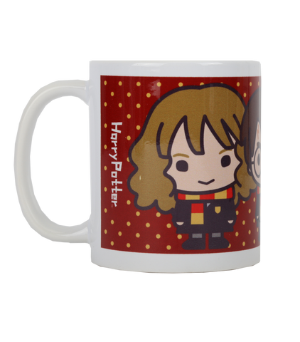 Kawaii Harry, Ron & Hermione Mug