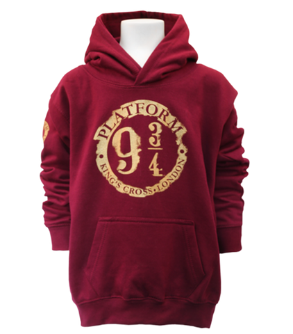DISTRESSED PLATFORM 9 3/4 HOODED JUMPER - Kids