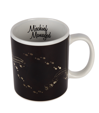 The Marauder's Map Heat Change Mug - Platform 9 3/4