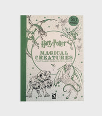 Magical Creatures Postcard Colouring Book