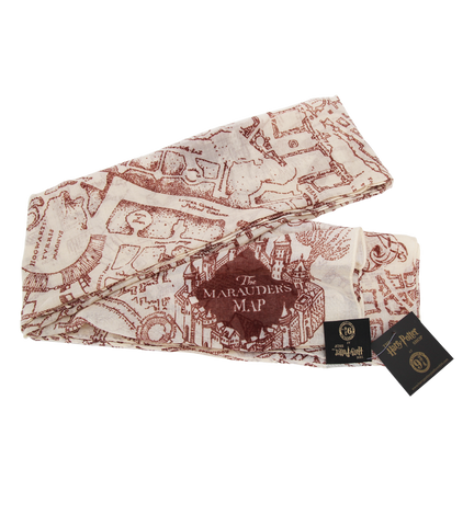 The Marauder's Map Scarf