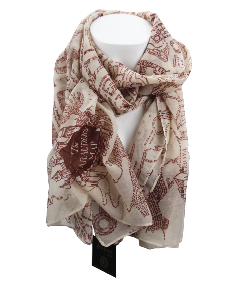 Harry potter merchandise harry potter shop at platform 9 34 the marauders map scarf gumiabroncs Choice Image