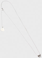 Sterling Silver Charm Carrier Necklace