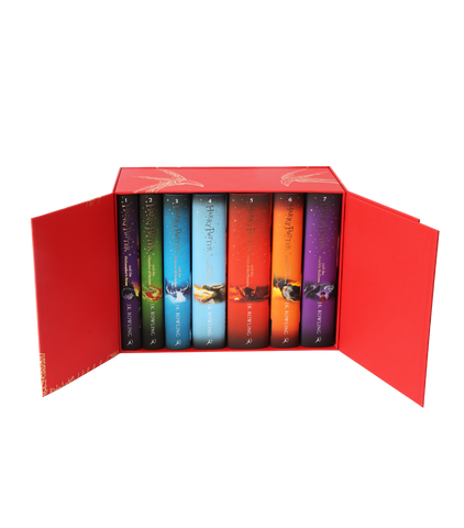 New Edition Box Set Harry Potter Hardback Collection