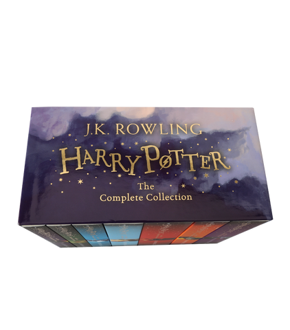 New Edition Box Set Harry Potter Paperback Collection