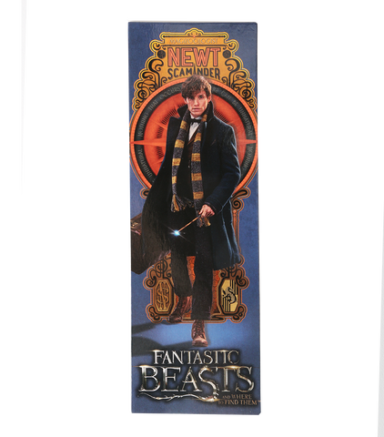Newt Scamander Wand & Bookmark